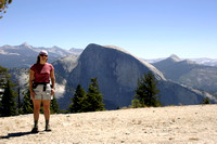 Tammy and Half dome