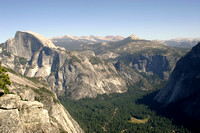 The view from Yosemite Point