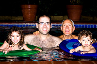 Day 2 -- In the pool with Daddy and Papa_28