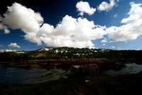 River, mountain and clouds_0628