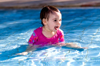 Maya Playing in the Pool by the Dead Sea_0881