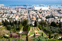 Baha'i Gardens and German Colony in Haifa_1684