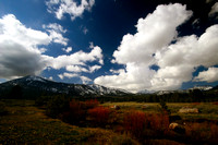 FIeld, river, mountain and clouds_0620