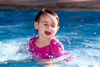 Maya Playing in the Pool by the Dead Sea_0890