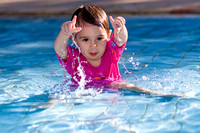 Maya Playing in the Pool by the Dead Sea_0882
