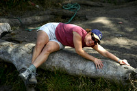 Tammy_in_some_weird_position_on_a_log_001