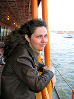 Ayleen on the Staten Island Ferry