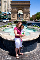 Tammy'Maya at the Arc de Triomphe at the Paris Hotel in Las Vegas_4987