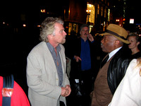 Richard Branson and SF Mayor Willie Brown