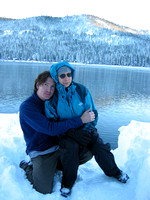 Martin and Gwyn by Donner Lake 2