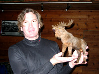 Martin and the moose