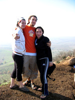 Lauren_Seth_and_Arielle_at_BenTal_Mountain_Bunkers